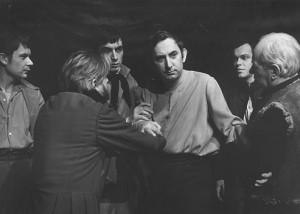 """Gustw Holoubek jako Konrad w """"Dziadach"""" reż. Kazimierz Dejmek 1967"""