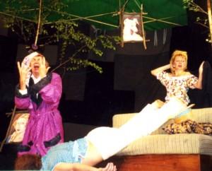 """Teatr Ptak z Ivanova - """"Oświadczyny"""" Czechowa"""