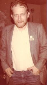 Mirosław Chojecki w Paryżu - 1984